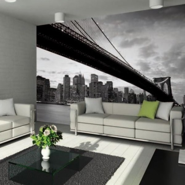 cityscape wallpaper murals give an instant urban vibe 18467 | new york 007 murals